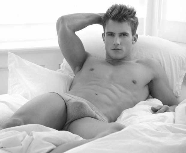Maxwell Zagorski Lying in Bed