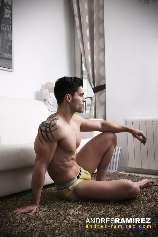 Enrique Rubio Marcuse Yellow Briefs