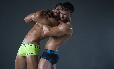 C-IN2 HARD Underwear Trunks Choke Hold Wrestlers