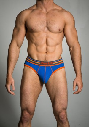 Baskit Ribbed Briefs Victoria Blue
