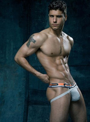 Model Cody Calafiore CIN2 Grip Jock Underwear