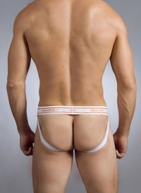 Baskit Urban Basics Jock Back White