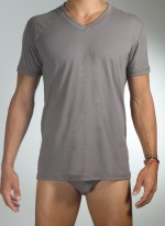 Baskit Light Yoga Tee Charcoal
