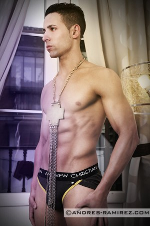 Damian Paris Andrew Christian Briefs