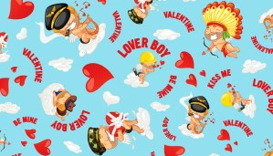 Loverboy Blue Pattern aussieBum