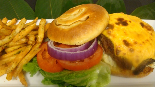 The Super Secret Burger by Chef Forrest Parker