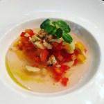 Santa Elena Style Gazpacho by Chef Forrest Parker of Undiscovered Charleston.