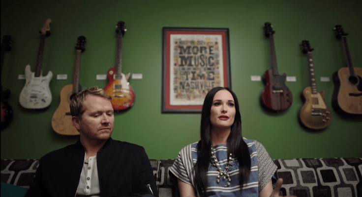 Shane McAnally and Kacey Musgraves in It All Begins with a Song