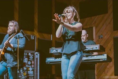 Deidre Thornell on stage