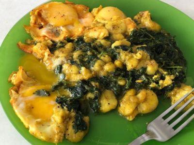 petit plat gourmand servi dans l'assiette