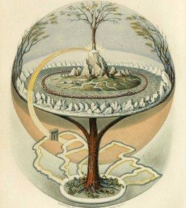 yggdrasil arbre cosmique