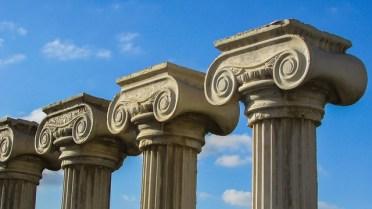 Les piliers de vie équilibre du bonheur