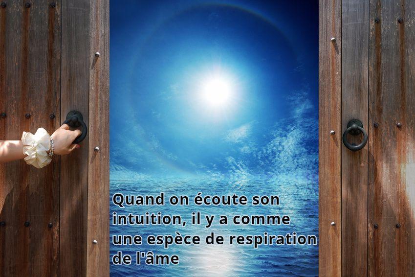 intuition respiration de l'âme