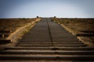 A long staircase - climbing up is how you live according to your highest values