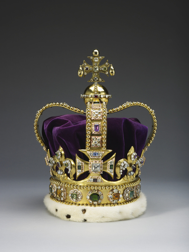 St Edward's Crown from 1661