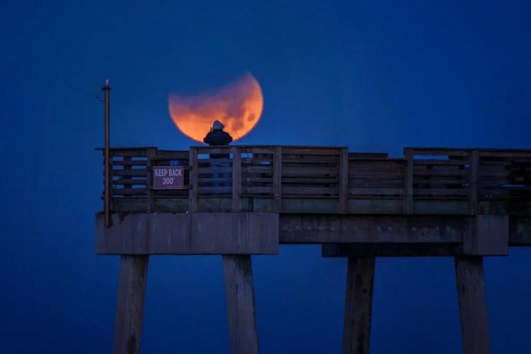 lunar eclipse 2018 photo