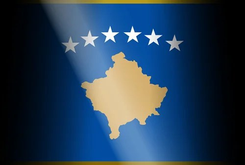 kosovo flag photo