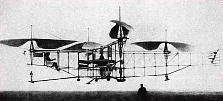 premier vol en helicoptère un 18 février