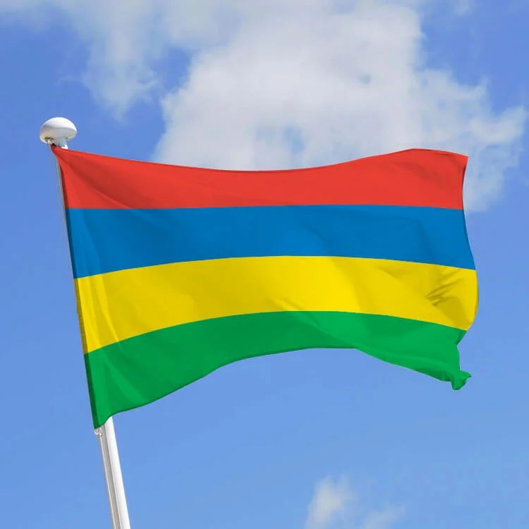 drapeau ile maurice