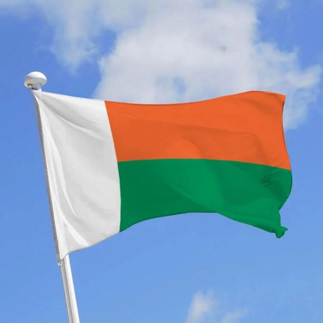 drapeau madagascar