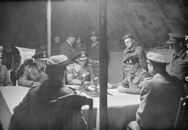 capitulation allemande