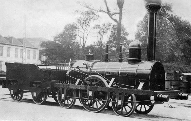 locomotive Le Belge