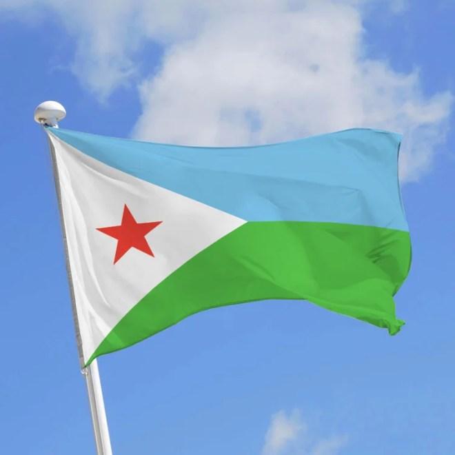 drapeau djobouti