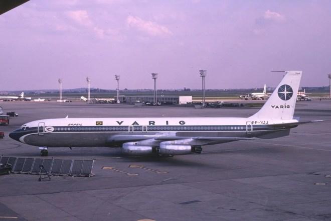 boeing 707 varig photo