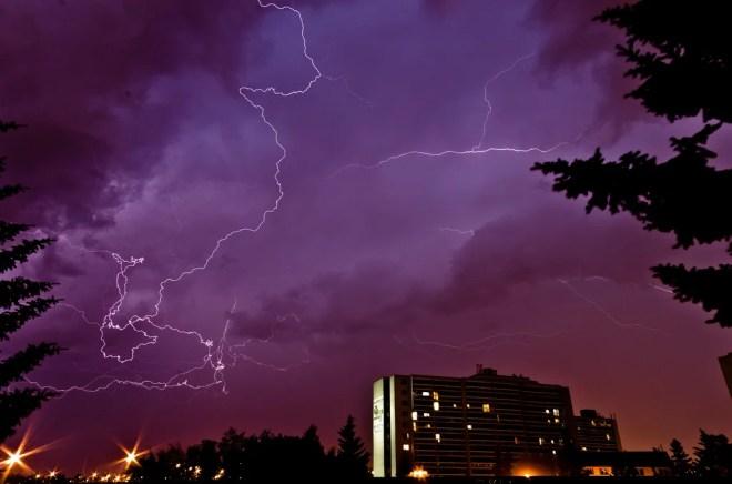 storm edmonton photo