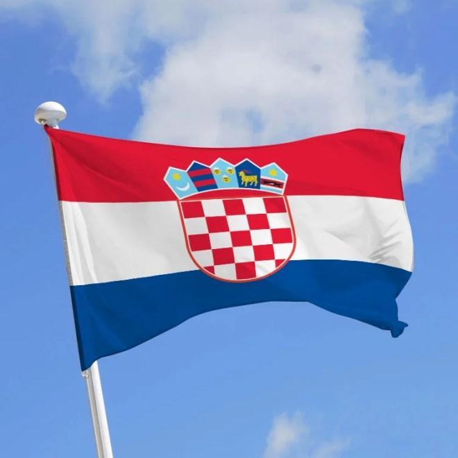 drapeau croatie