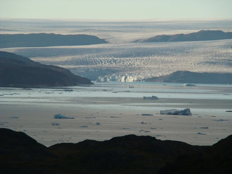 inlandsis groenland photo