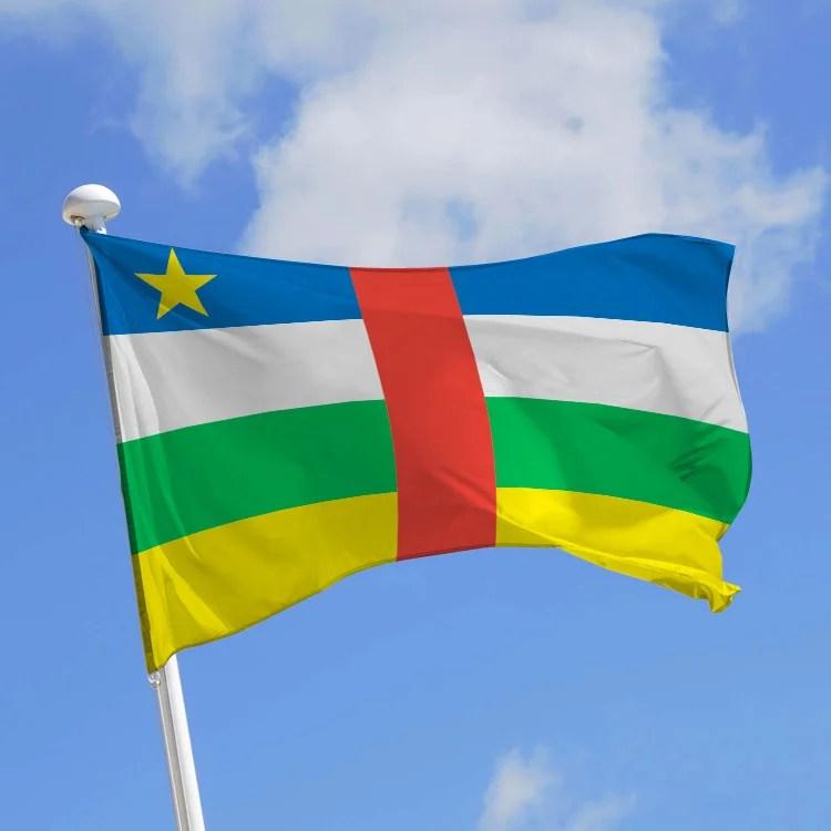 drapeau republique centrafricaine