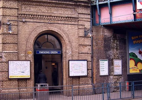 parsons green station photo