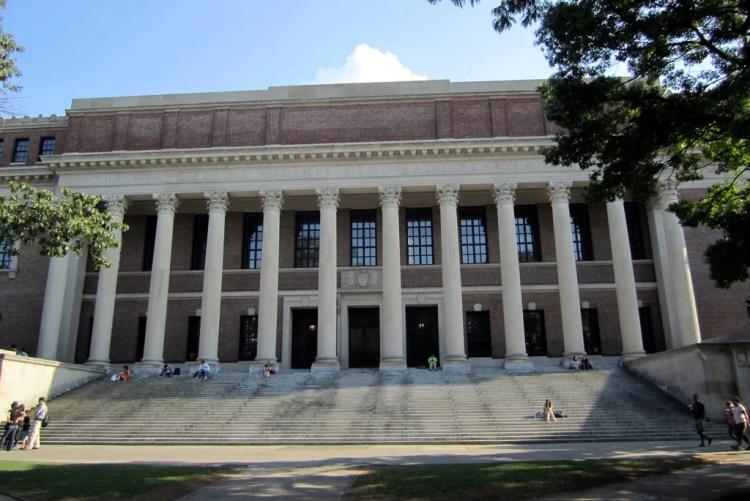 harvard library photo