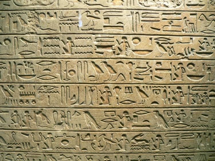 hiéroglyphes photo