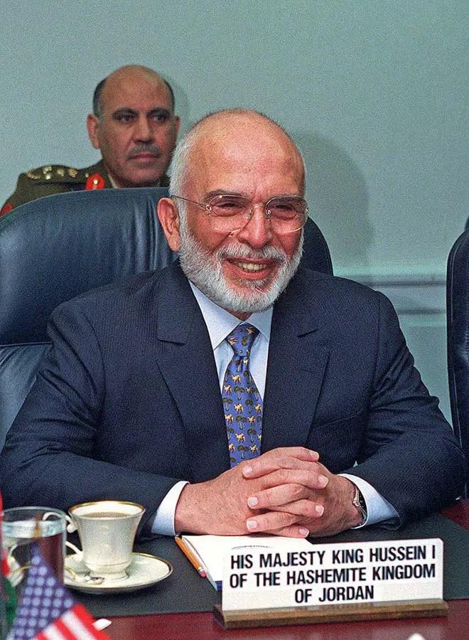 Roi Hussein de Jordanie