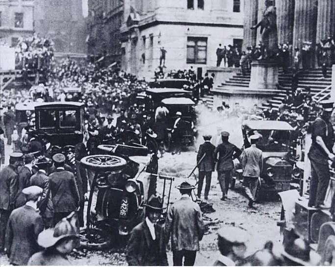 attentat de wall street