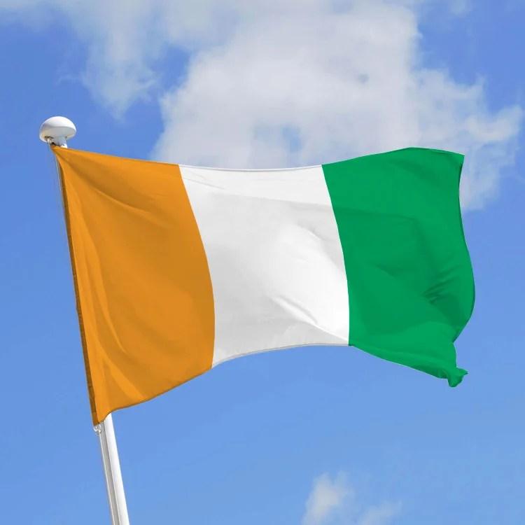 drapeau côte d'ivoire