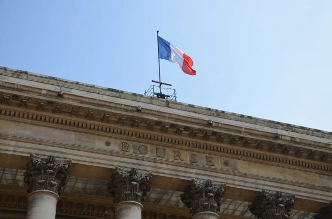 bourse paris photo