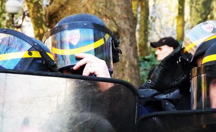 CRS police nationale photo