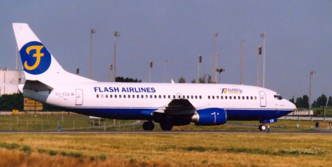 Boeing flash airlines