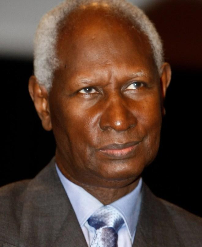 Abdou Diouf président de la République du Sénégal le 29 février