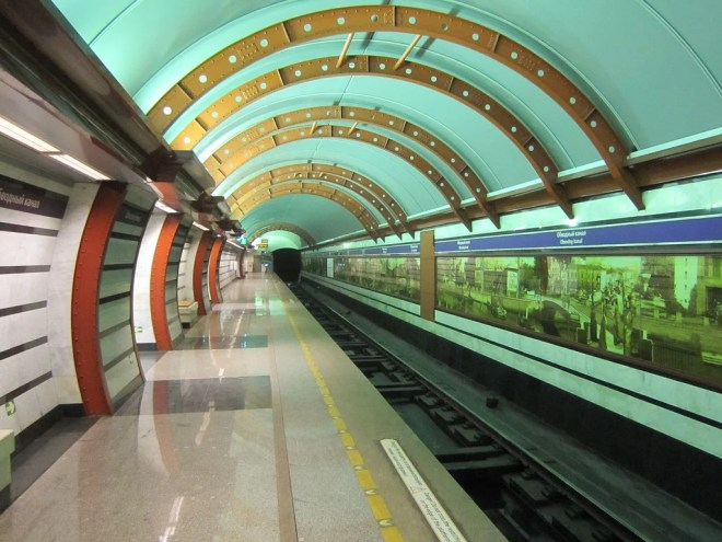 saint petersburg metro photo