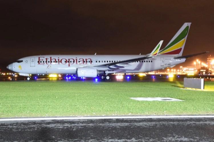 Boeing 737 max ethiopian photo