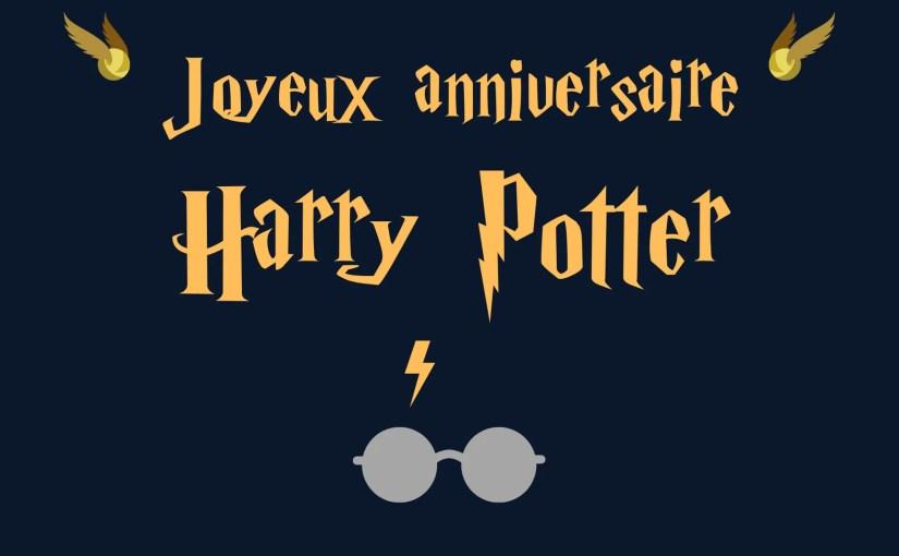 31 Juillet 2020 : Harry Potter a 40 ans ! retour sur son oeuvre