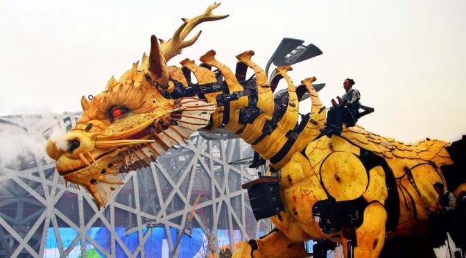 L'esprit du cheval dragon: le cinquantenaire des relations France-Chine