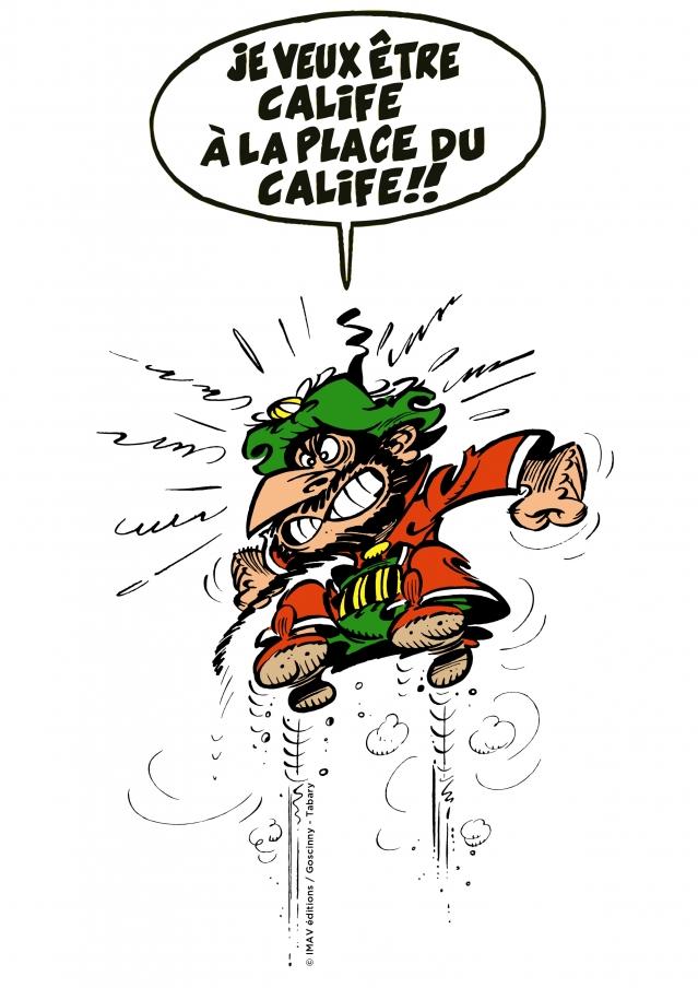 Calif à La Place Du Calif : calif, place, Iznogoud, Calife, Place, Nicolas, Tabary, éditions