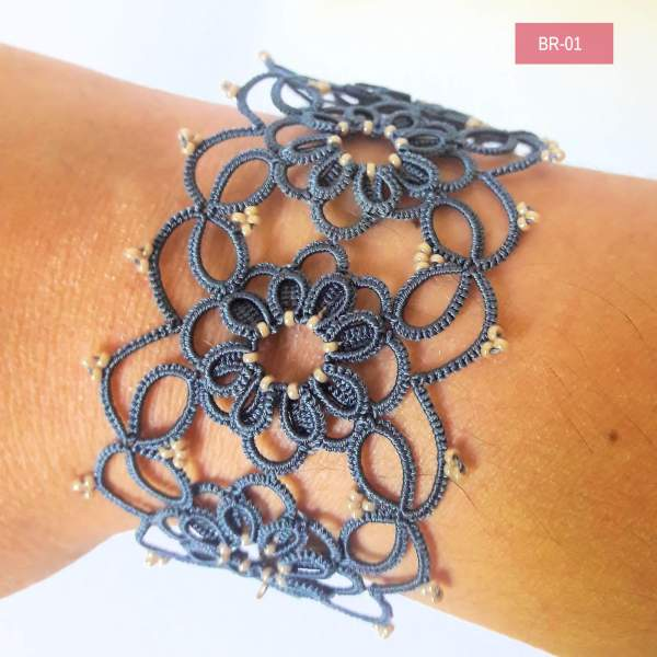 Bracelet en frivolité Esi