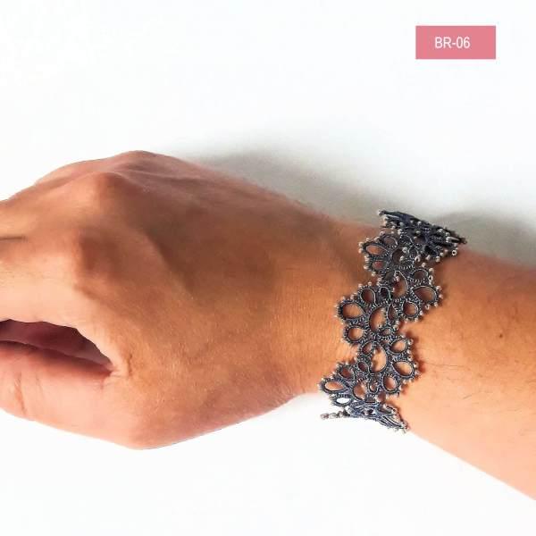 Bracelet en frivolité Livia