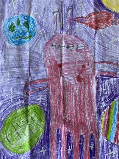 Un extraterrestre selon Sanassa